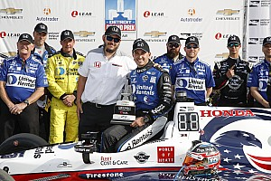 IndyCar Breaking news Rahal says dominant win justified yesterday's confidence