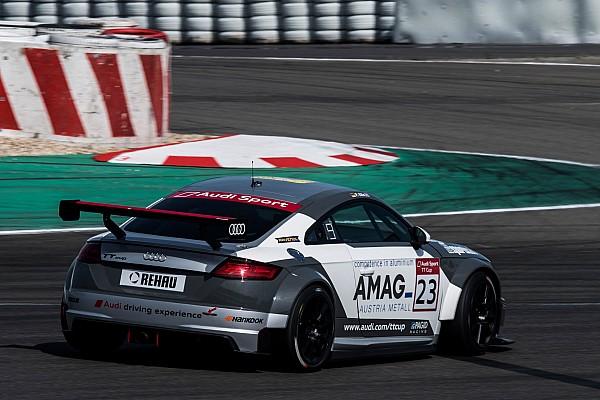 Audi TT Cup: Ein wertloser zweiter Platz für Philip Ellis