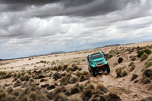 Dakar Breaking news De Rooy's Dakar title defence hopes take a knock