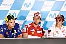 Marquez, Dovi, Zarco bicara soal kontrak baru Rossi