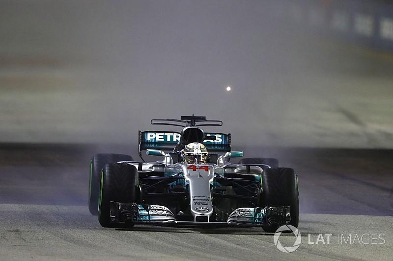 """Hamilton : """"Dès qu'il a plu, je savais où j'allais finir"""""""