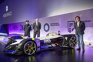 Roborace Noticias de última hora Roborace presenta el primer coche de carreras autónomo