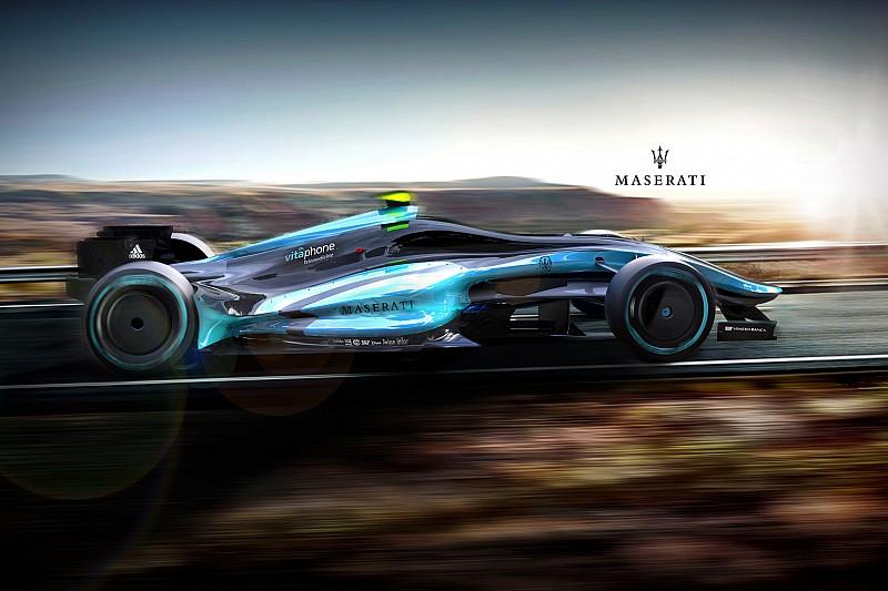 Галерея: концепт Maserati у Формулі 1 2020 року