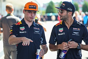 Formula 1 Breaking news Ricciardo: No concerns about Verstappen favouritism at Red Bull