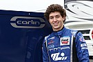 Indy Lights Leist leads Carlin 1-2-3 in testing at IMS