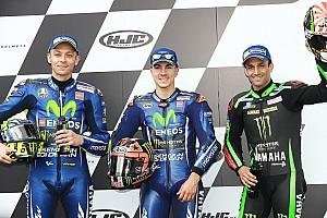 MotoGP Kwalificatieverslag Viñales pakt pole voor GP Frankrijk, Rossi en Zarco op eerste rij