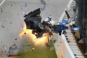 IndyCar Top List Así vive un fotógrafo un accidente de infarto como el de Dixon en Indy