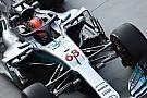 GALERÍA: el Halo probado en el Mercedes W08