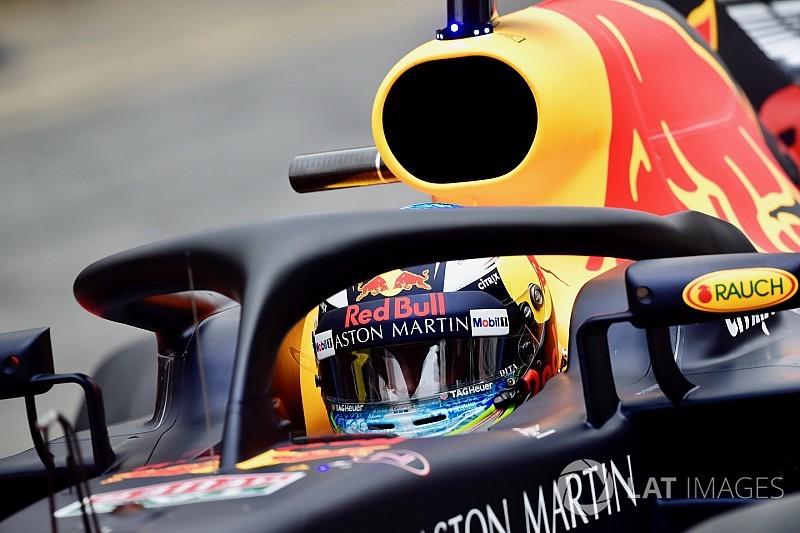 Ricciardo: Halo start ışıklarını engellemiyor