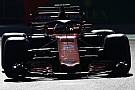 El McLaren MCL33 fue visto antes de su presentación