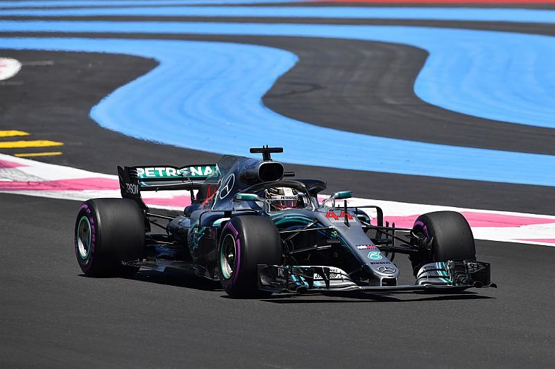 Fransa GP 2. antrenman: Hamilton, Ricciardo'nun 0.7 saniye önünde lider