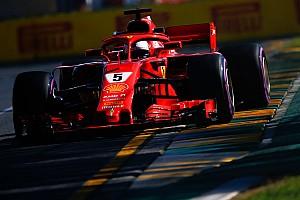 Melbourne, Libere 3: Vettel svetta con le slick dopo il bagnato