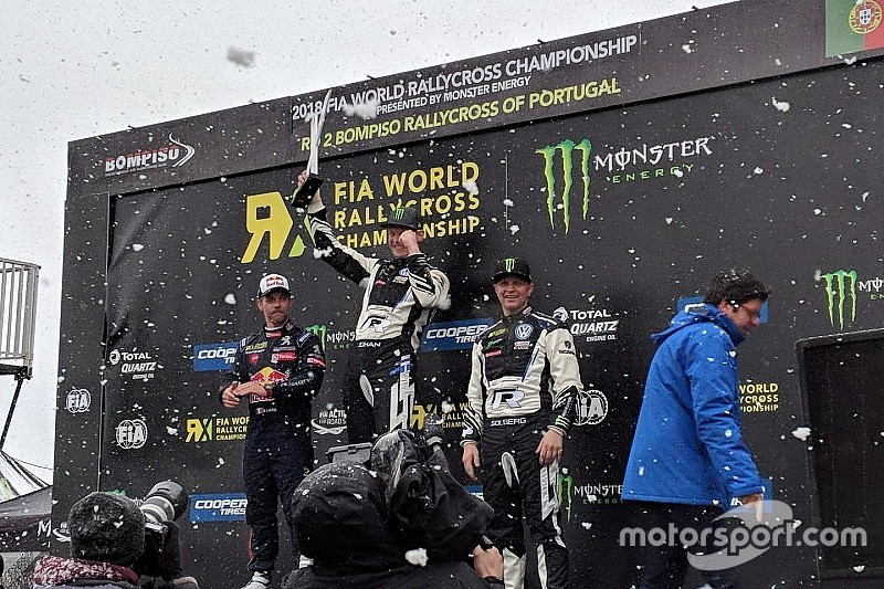 Portugal World RX: Kristoffersson wins amid snowfall