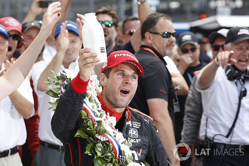 Indy-500-Sieger Will Power: Nur in der Victory Lane hapert's