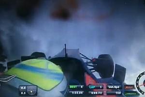 Formel-3-EM News Heftiger Crash in Hockenheim: Flugstunden für Will Buller beim Testen