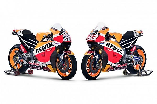 MotoGP В Honda показали новый мотоцикл