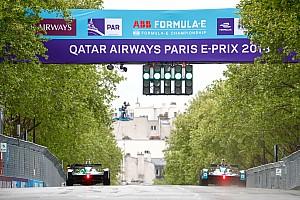 Fórmula E Resultados La parrilla de salida del E-Prix de Paris