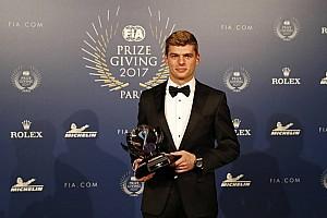 Verstappen, nombrado 'Personalidad del año' por tercera vez consecutiva