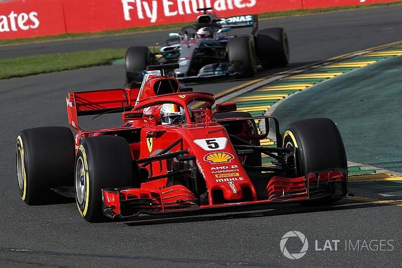 Mercedes se voit rattrapé par Ferrari en puissance moteur