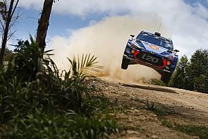 WRC Leg report Australia WRC: Neuville into rally lead after Mikkelsen crashes