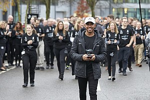 F1 Top List Galería: Hamilton celebra su cuarto título en las fábricas de Mercedes