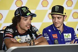 MotoGP Noticias de última hora Rossi considera que Morbidelli será competitivo en 2018