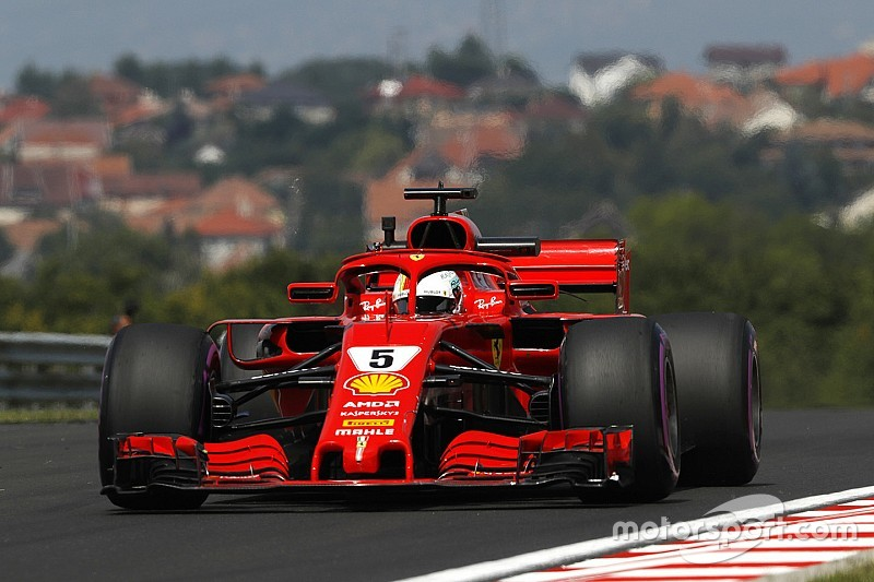 FP2 GP Hongaria: Vettel di depan duo Red Bull, Mercedes tertinggal