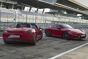 Auto Actualités 718 Cayman et Boxster GTS: Porsche sort les muscles