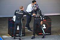 Пилоты Mercedes пожаловались на шины, жару и третий сектор