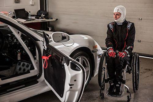 """Nathalie McGloin: """"Engelli insanlar motor sporlarında 'inanılmaz şeyler' yapıyorlar"""""""