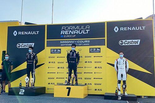 Vidales, gran defensa y podio en la Renault Eurocup en Magny-Cours