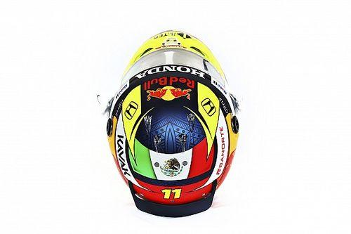 VIDEO: así será el casco que utilizará Sergio Pérez en Red Bull