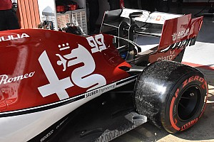 Tecnica Alfa Romeo: sulla C38 è comparsa una piccola pinna con la T-wing