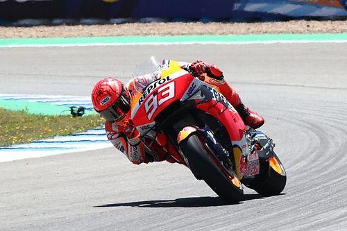 """Marquez """"destroyed"""" after Jerez MotoGP race"""