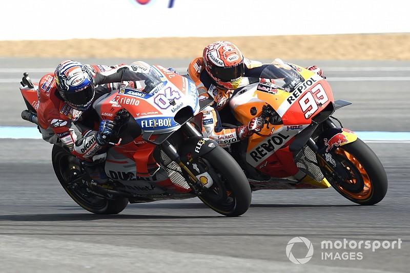 Dovizioso: Ducati zou 'stom' zijn om Marquez niet te overwegen voor 2021