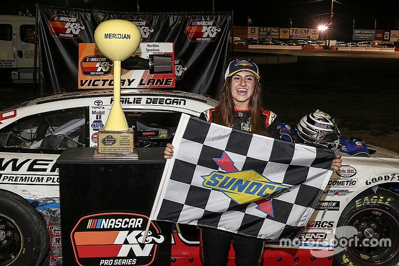 The rising star that stunned a NASCAR champion