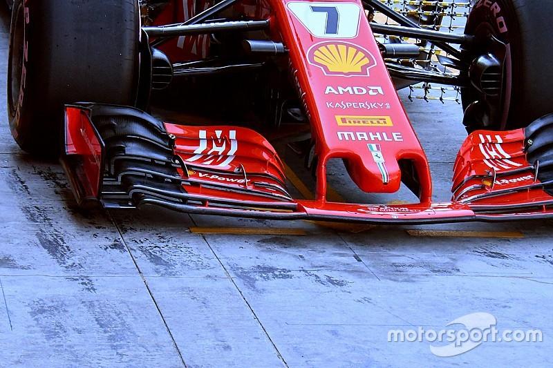 Технический анализ: почему Ferrari не получит большой пользы от крыла 2019 года в Абу-Даби