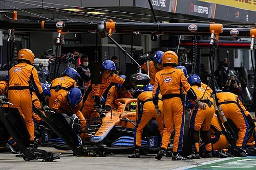 """Norris """"devastated"""" to lose Sochi F1 win after making wrong tyre call"""