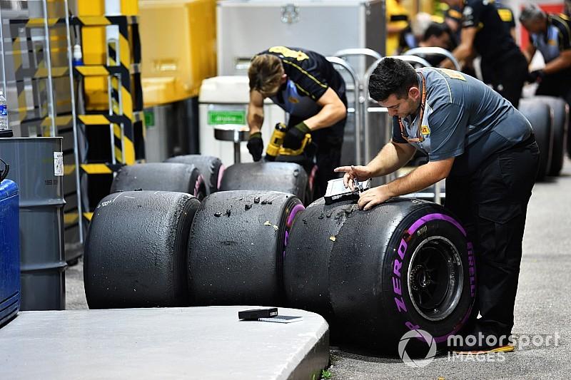 Los pilotos de F1 expondrán su preocupación por los neumáticos en Brasil