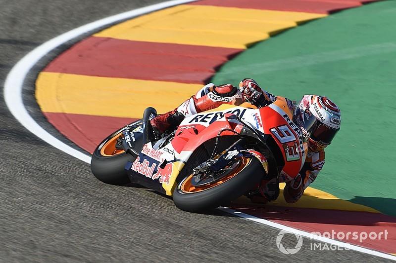Márquez supera Ducati e lidera sexta-feira em Aragón