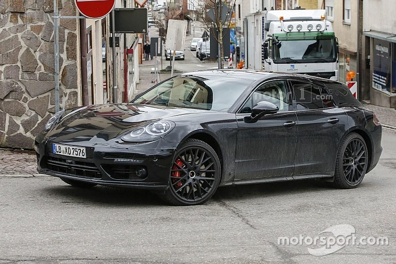 Porsche betrapt tijdens tests met Panamera Shooting Brake