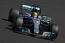 Hamilton yarışta