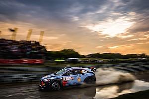 WRC Resumen de la etapa Neuville cierra el sábado en Polonia como líder