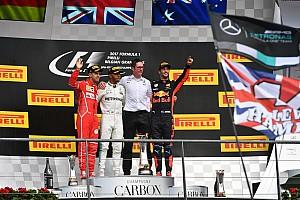 F1 Reporte de la carrera Lewis Hamilton resiste el ataque de Vettel para triunfar en Bélgica