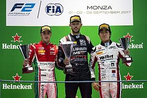 FIA F2 Race report Feature Race F2 Italia: Ghiotto curi kemenangan dari Leclerc/de Vries