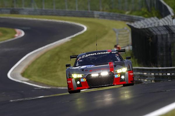 24 uur Nürburgring: #9 WRT Audi aan de leiding na openingsfase