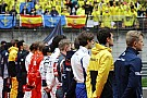【F1】リカルドとペレス、中国GPの国歌斉唱セレモニーに遅刻
