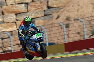 Moto2 Reporte de la carrera Morbidelli celebró en el final en Moto2