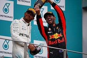 Formule 1 Réactions Ricciardo a farouchement résisté à Vettel