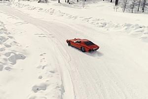 Automotive Noticias de última hora Un Lamborghini sobre la nieve